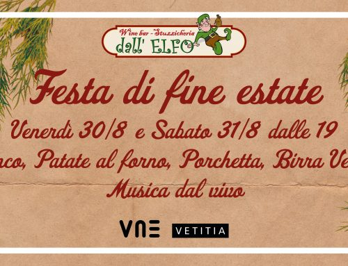 Vetitia alla Festa di Fine Estate all'Elfo il 30 e 31 Agosto